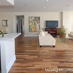 Living Room of Century City condo in Los Angeles after home staging