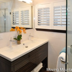 Pasadena Contemporary Home Staging Bathroom