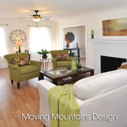 Altadena Home Staging Living Room