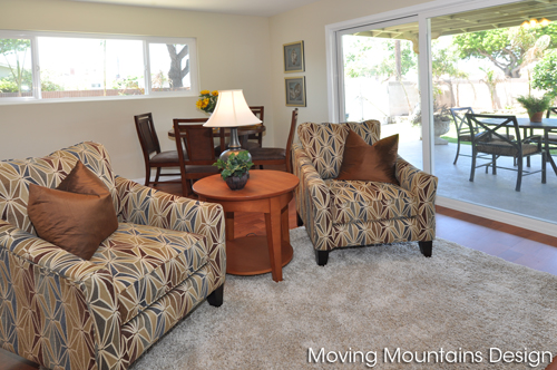 Family great room in Torrance home for sale