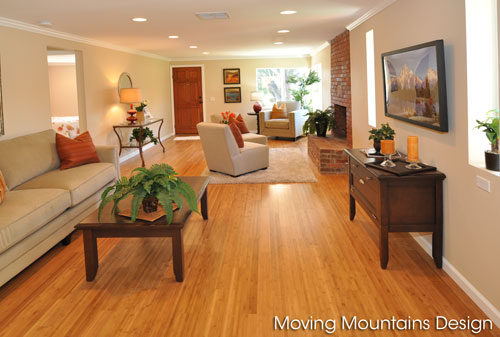 Altadena staged home for real estate investors