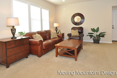 Rosemead Home Staging Family Room