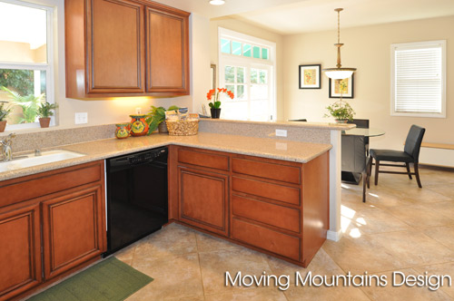 Kitchen in Rosemead Home Staging
