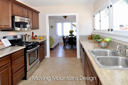 Altadena Home Staging Kitchen For A Real Estate Investor