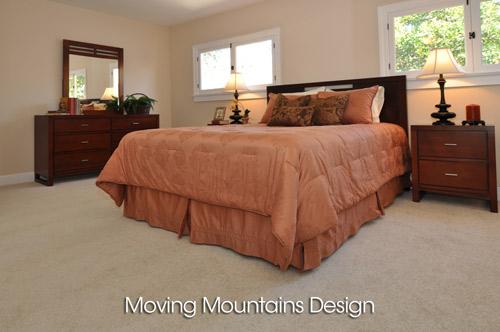 Altadena House Staging For A Real Estate Investor - Master Bedroom