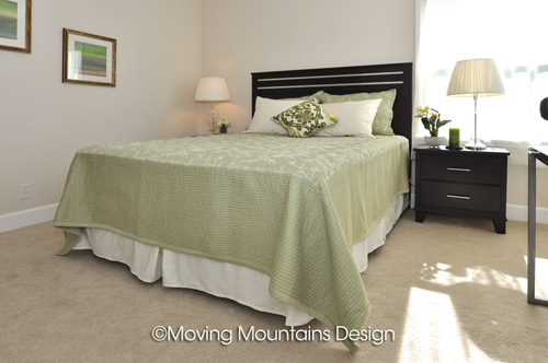 La Crescenta Real Estate Staging Master Bedroom