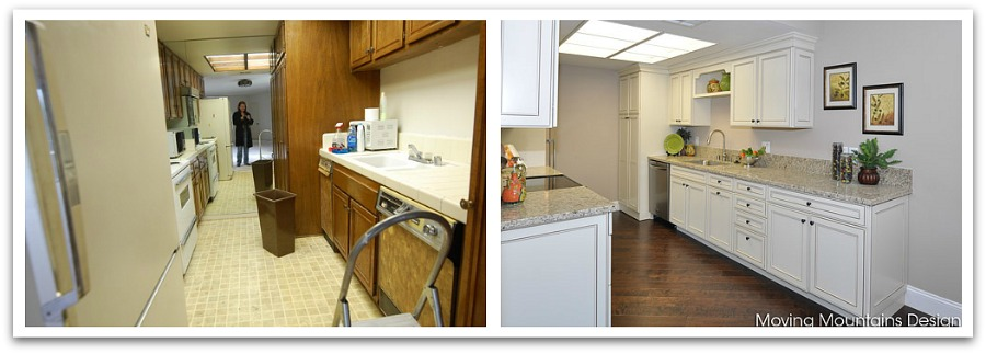Los Angeles Condo Kitchen Makeover Before and After Photos