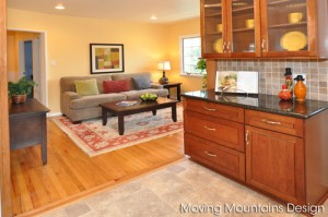 Glendale Home Staging Family Room