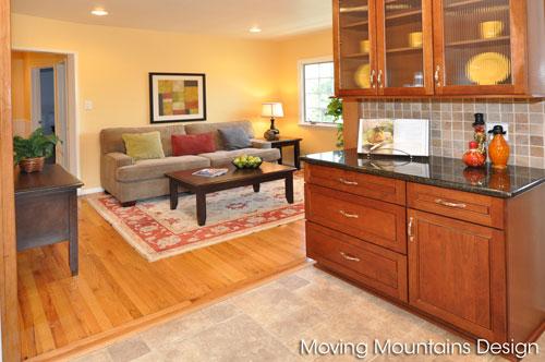 Glendale Home Staging Family Room