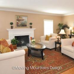 Home staging San Marino living room