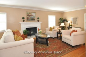 San marino home staging living room moving mountains for The family room san marino