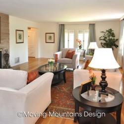Livingroom in Pasadena after Home Staging