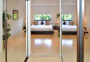 Master Bedroom Contemporary Los Angeles Condo Home Staging