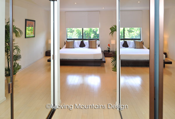 Los angeles home staging la contemporary home staging design Master bedroom home staging