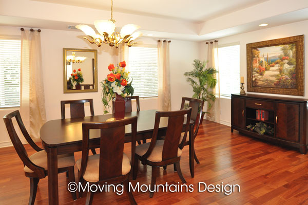 Arcadia House For Sale Dining Room After Home Staging