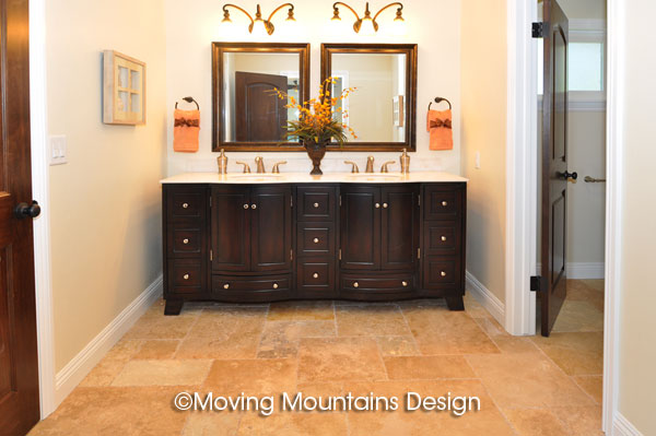 Master Bath Home Staging in San Clemente