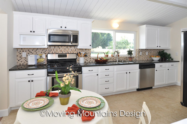 Los Angeles Real Estate Staging Project In La Mirada Kitchen