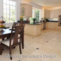 San Marino Kitchen Home Staging by Moving Mountains Design