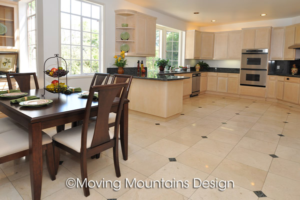 San Marino Kitchen Home Staging by Moving Mountains Design ...