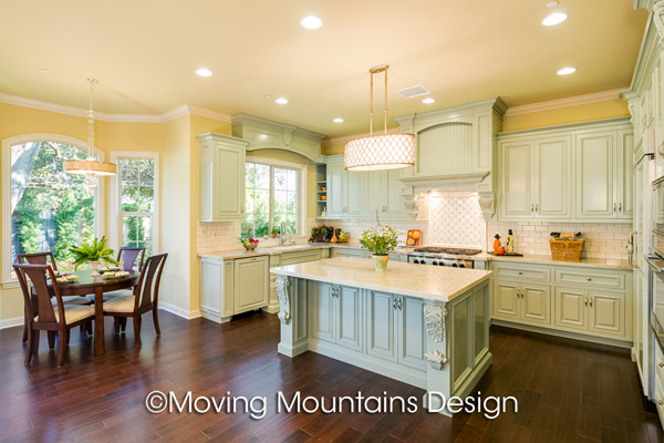 Arcadia New Construction Home Staging » Arcadia New Home Staging Kitchen