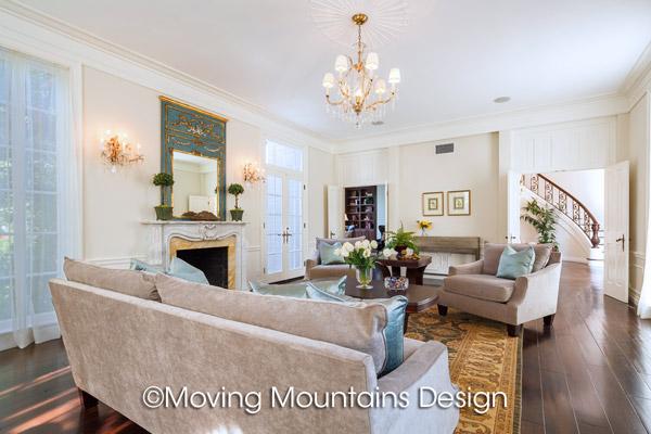 Home Staging Beverly Hills Formal Living Room