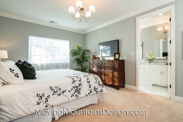 Arcadia Condo Staging Master Bedroom