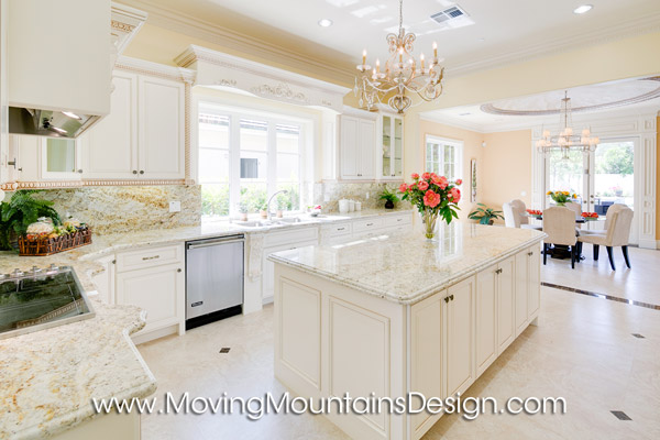 Custom Luxury Arcadia Home for Sale. Arcadia model home staging by Moving Mountains Design 626-385-8852