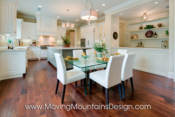 Arcadia Luxury Home Staging Kitchen by Moving Mountains Design