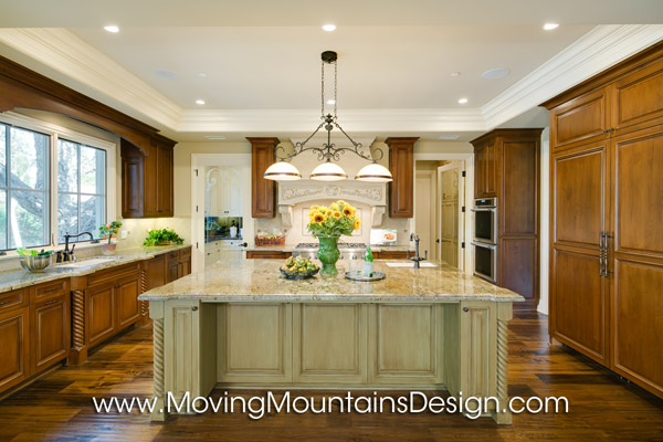 Kitchen in Luxury Home Staging in Arcadia