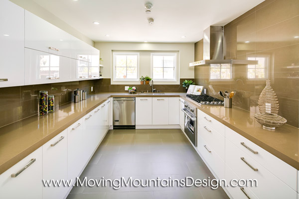 San Marino Contemporary Home Staging Kitchen