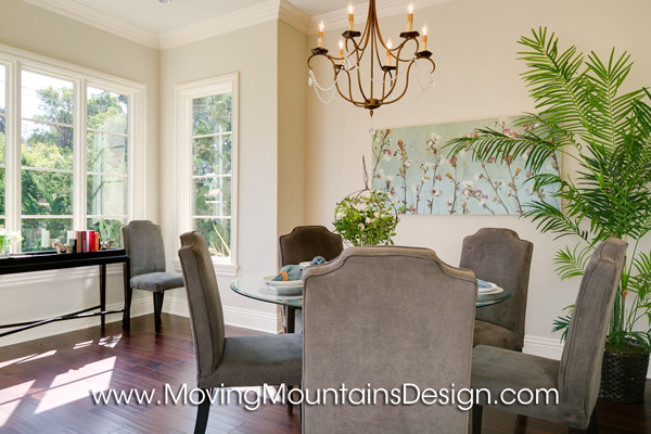Beautiful Arcadia Home Staging Breakfast room home staging