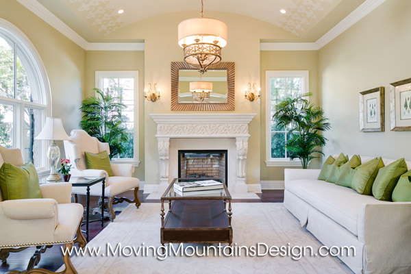 Beautiful Arcadia livingroom home staging