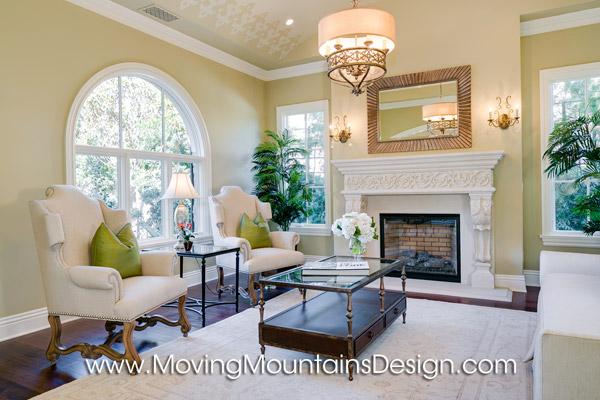Beautiful Arcadia Home Staging Living Room