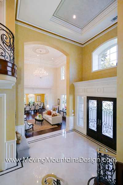 Arcadia Luxury Home Staging Entry