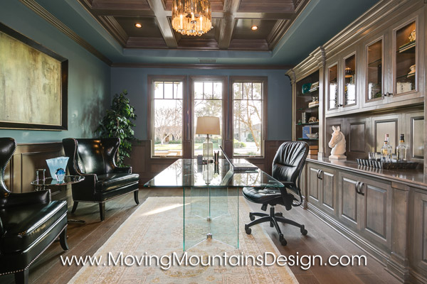 Contemporary Luxury Home Staging Office in Arcadia