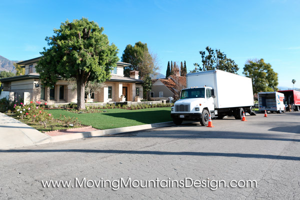 Home Staging Furniture Delivery