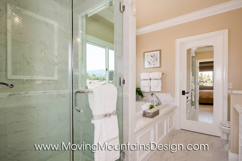 Master Bathroom Home Staging Arcadia