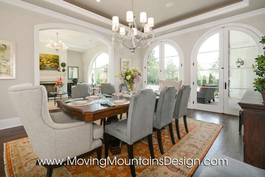 Arcadia Home Staging Dining Room