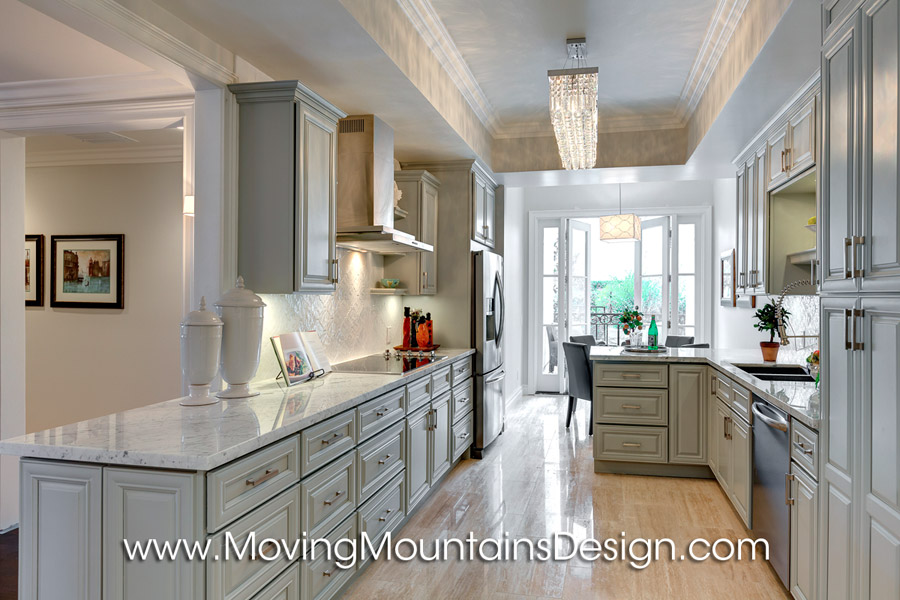 Century City Los Angeles Home Staging Kitchen