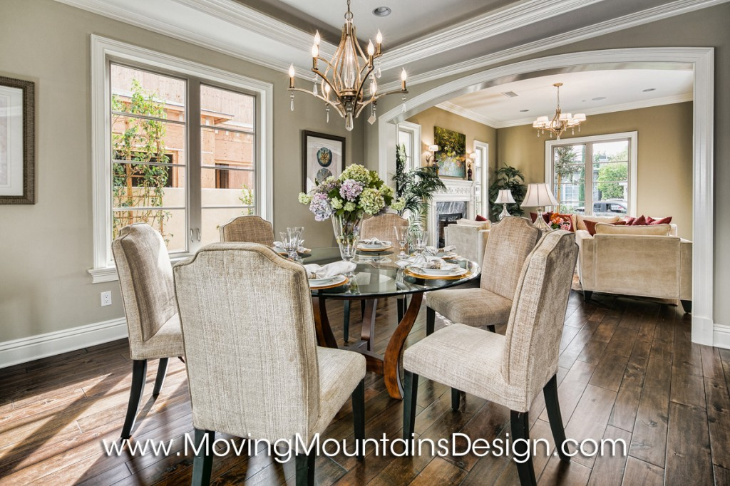 Beautiful Arcadia Home Staging Entry with Marble Floor