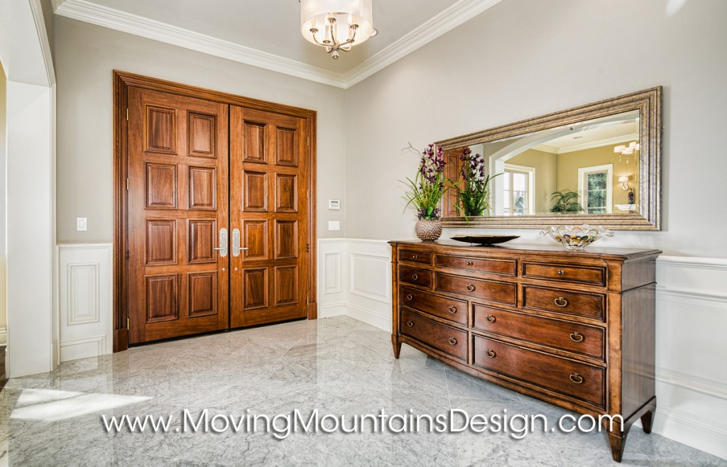 Arcadia Home Staging Entry with Marble Floor