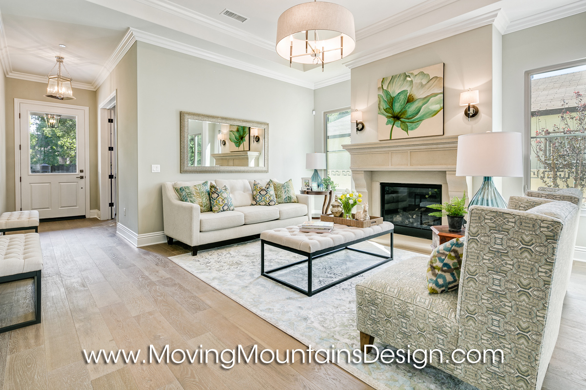 Monrovia New Construction Home Staging Project