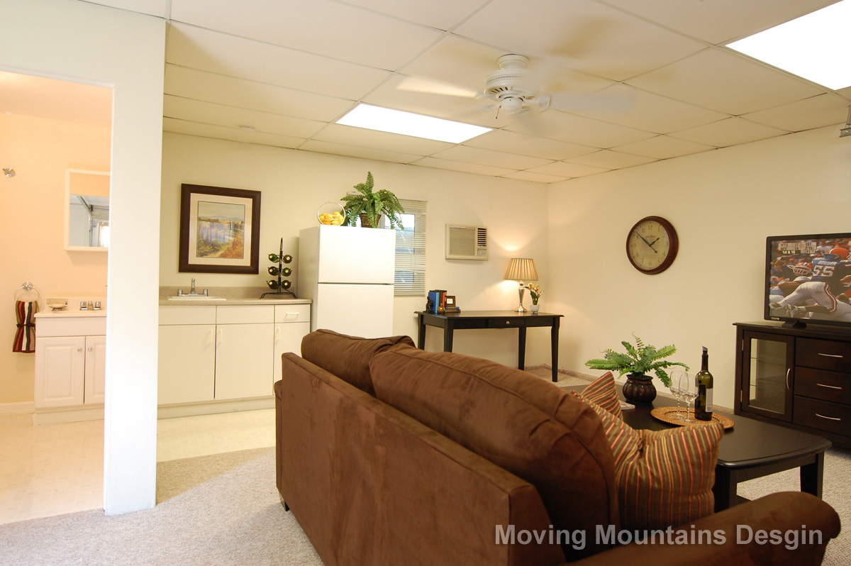 Home Staging Valley Village Man Cave
