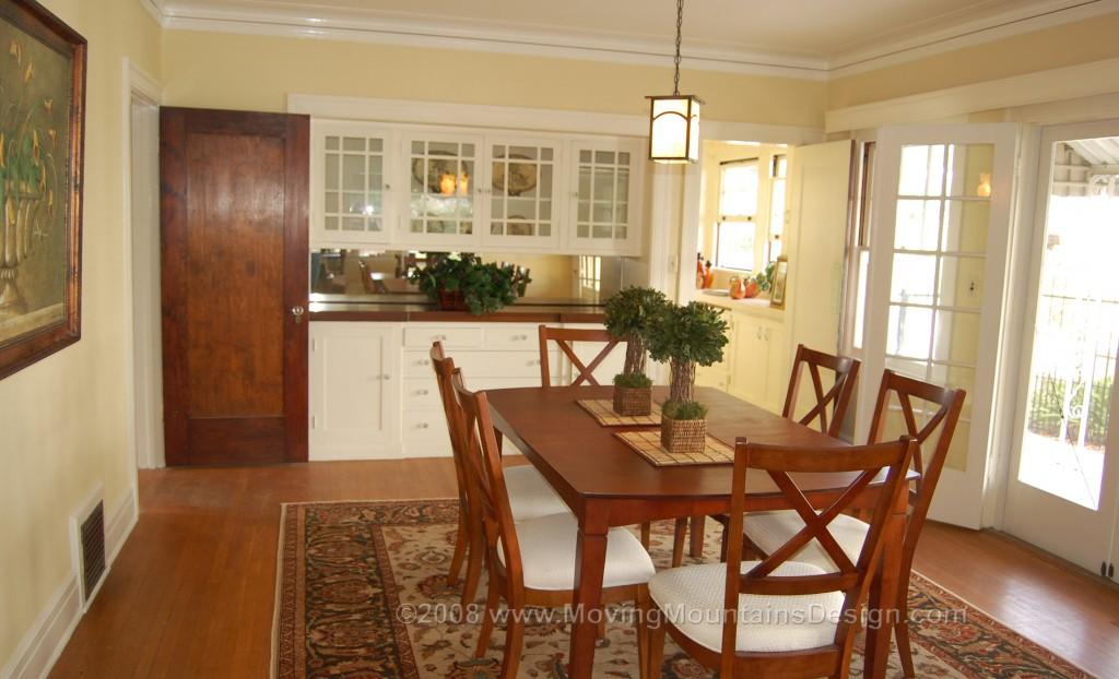 Pasadena Craftsman home staging for sale