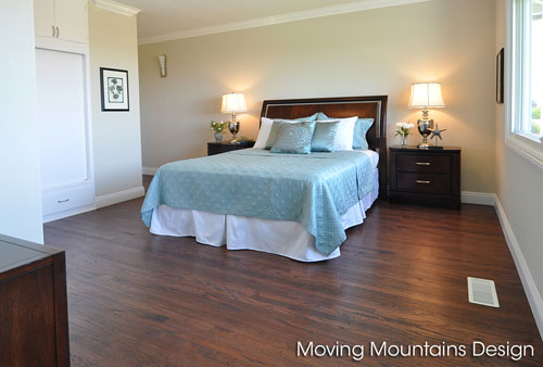 Los Angeles Real Estate Staging Master Bedroom Redondo Beach