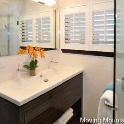 Pasadena Contemporary Home Staging Bathroom