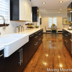 Pasadena Contemporary Home Staging Kitchen