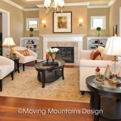 Arcadia Luxury Home Staging Livingroom