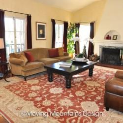 Los Angeles Home Staging Livingroom