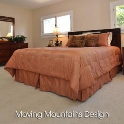 Altadena Home Staging Bedroom